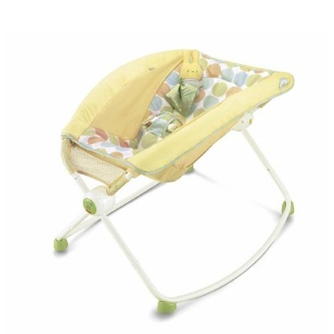 Fisher-Price Newborn Rock 'n Play Sleeper, Yellow