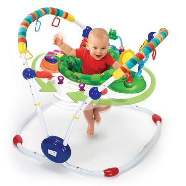 Baby Einstein Musical Motion Activity Jumper, Green