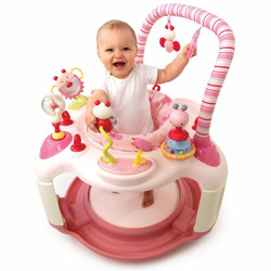 Bright Starts Bounce-A-Bout Activity Center, Pink