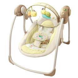 Bright Starts InGenuity Portable Swing with Sustained Speed - Bella Vista