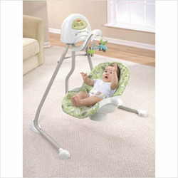 Fisher-Price Cradle 'n Swing, Scatterbug