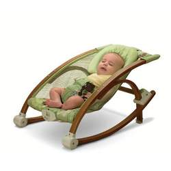 Fisher-Price Brentwood Baby Collection Rocker and Seat, Sea Green