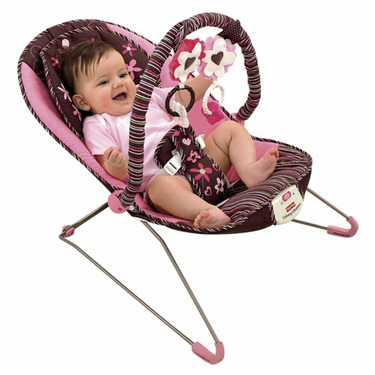 Fisher Price Beautiful Garden Comfy Time Bouncer