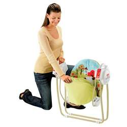 Fisher Price Take Along Swing - How Now Brown Cow