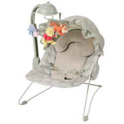 Disney Baby Deluxe Musical Bouncer Featuring Pooh Characters