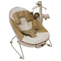 Kolcraft Tender Vibes Deluxe Bouncer, Gone Safari
