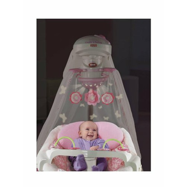 Fisher-Price Butterfly Garden Cradle 'n Swing - Pink