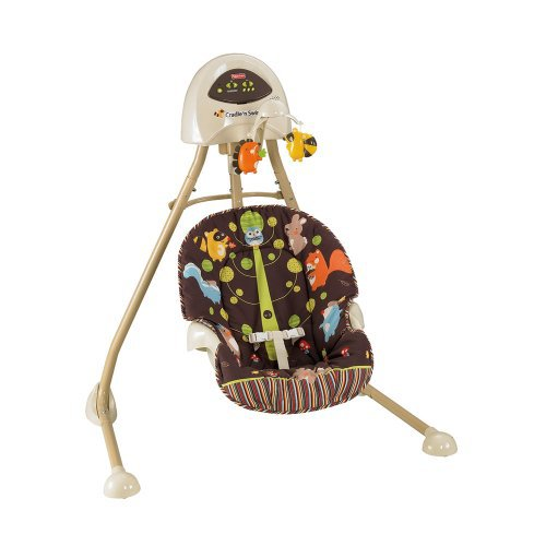 Fisher Price 2 In 1 Cradle Swing Woodland Animals