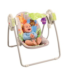 Fisher Price Precious Planet Take Along Swing - Khaki Sands