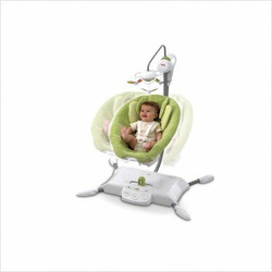 Fisher-Price i-Glide Cradle 'n Swing, Green