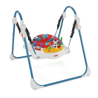 e23bf5c87343 Fisher-Price Adorable Animals Jumperoo reviews in Baby Gear - Swings ...
