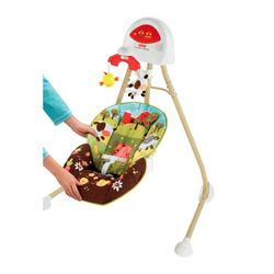 Fisher Price 2 in 1 Cradle Swing How Now Brown Cow