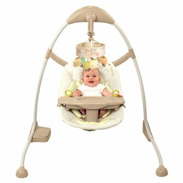 Bright Starts Ingenuity Cradle and Sway Swing - Bella Vista