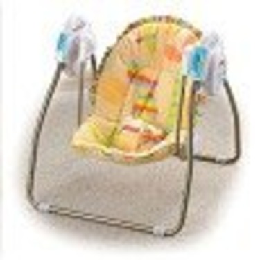 Fisher-Price Open Top Take-Along Swing - Alligator Stripes