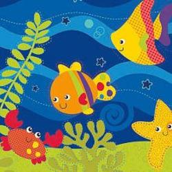 Fisher-Price Ocean Wonders Deep Blue Sea Baby Bouncer