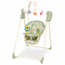 Graco - Easy Entry Infant Swing, Winnie the Pooh Days of Hunny
