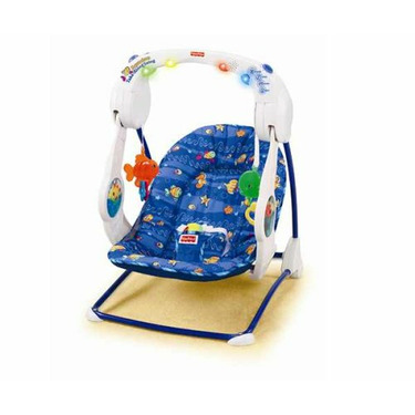 Fisher-Price Aquarium Take-Along Swing