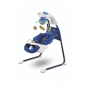 Fisher-Price Ocean Wonders Aquarium Cradle Swing