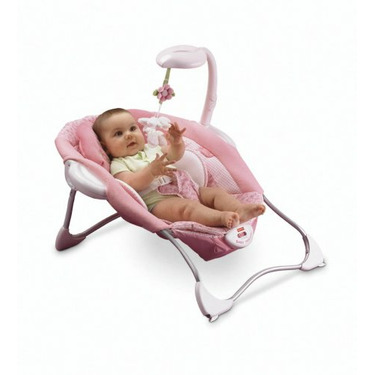 Fisher-Price Baby Papasan Infant Seat - Butterfly Pink