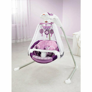 Fisher-Price Baby Cradle Swing - Sugar Plum