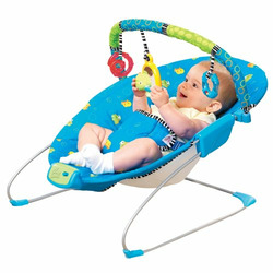 Bright Starts Bouncing Buddies Cradling Bouncer in Blue