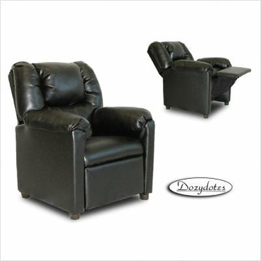 Black Stratolounger Child Recliner Chair