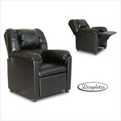 Black Stratolounger Child Recliner Chair
