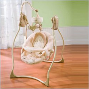 Summer Infant Sleepy Safari Complete Comfort Swing