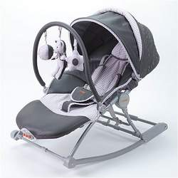 Combi DX Activity Rocker in Grey Gingham