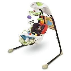 Fisher Price Luv U Zoo Cradle n Swing
