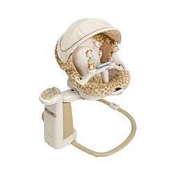 Graco Sweetpeace Newborn Soothing Swing Center - Snuggly Safari