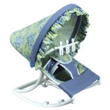 Infant Rocker - color: Lime Toile