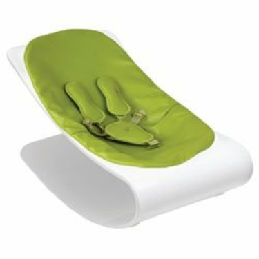 Coco Bloom Seat Pad - Gala Green Leatherette