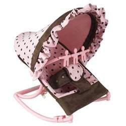 Infant Rocker - color: Pink Dot