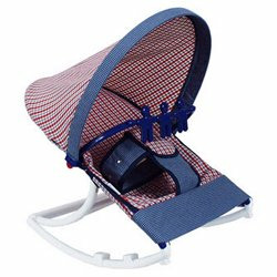Infant Rocker - Color Blue Plaid