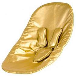 Coco Bloom Seat Pad - Solar Gold Leatherette