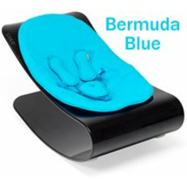 Bloom E10601-BCB Coco Bloom Plexistyle With Black Frame & Bermuda Blue Seat Pad