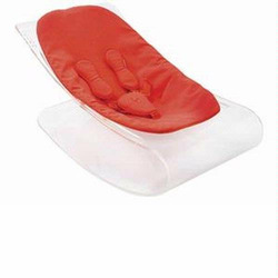 coco plexistyle baby lounger - Rock Red