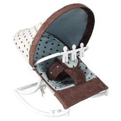Infant Rocker - color: Blue Dot