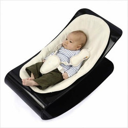 coco plexistyle baby lounger - White Frame - Rock Red