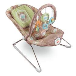 Fisher-Price Comfy Time Bouncer, Coco Sorbet