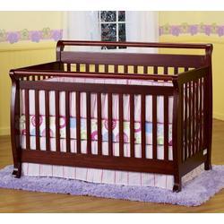 DaVinci Emily Convertible Baby Crib in Cherry