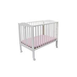 Dream On Me 2-in-1 Folding Portable Crib - White