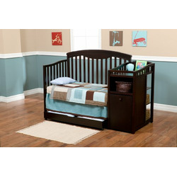 Delta Shelby Crib and Changer, Espresso