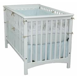 Child Craft Falls Village Stationary Crib, White