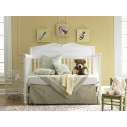 Graco Victoria Non Drop Side 5 In 1 Convertible Crib, White
