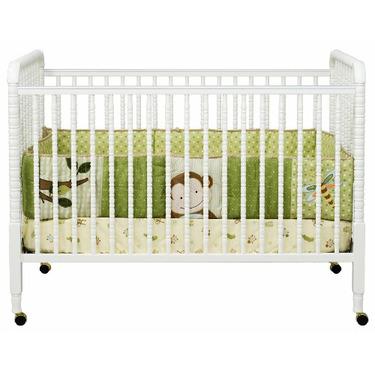 Davinci Jenny Lind Stationary Crib, White