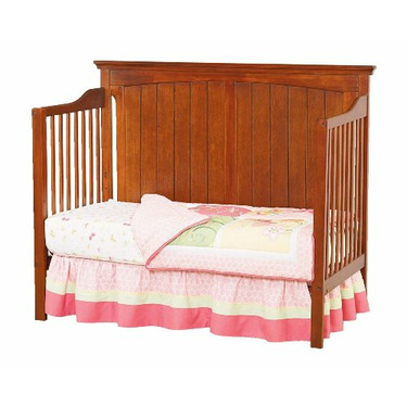 First Choice Cape Cod II 4 in 1 Convertible Crib, Cherry