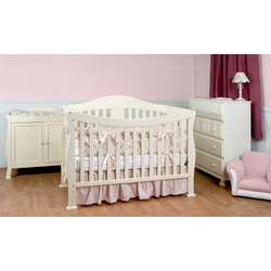 DaVinci Parker Crib in Pearl White