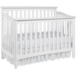 Europa Baby Geneva Convertible Crib, White